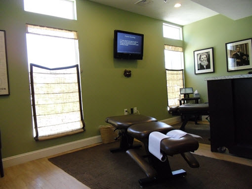 Mulcahy Chiropractic Adjusting Room