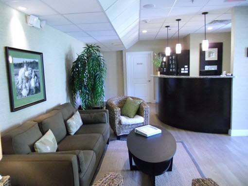 Mulcahy Chiropractic Reception Room